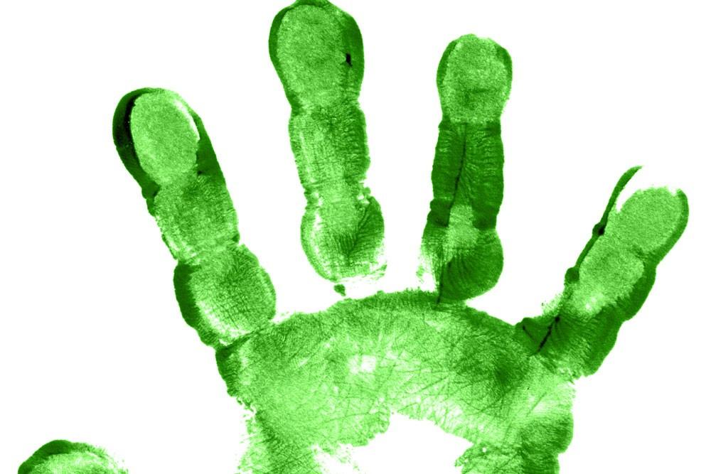 Grüne Druckerei